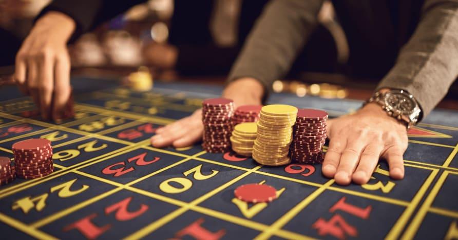 Vedľajšie stávky na dobré a zlé živé kasíno