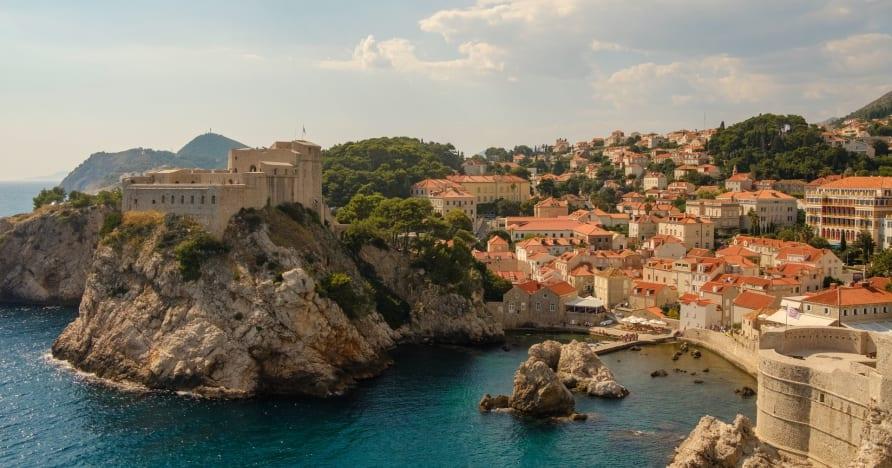 Chorvátska živá hazardná scéna