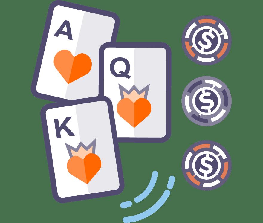 Hrajte naživo poker o tri karty
